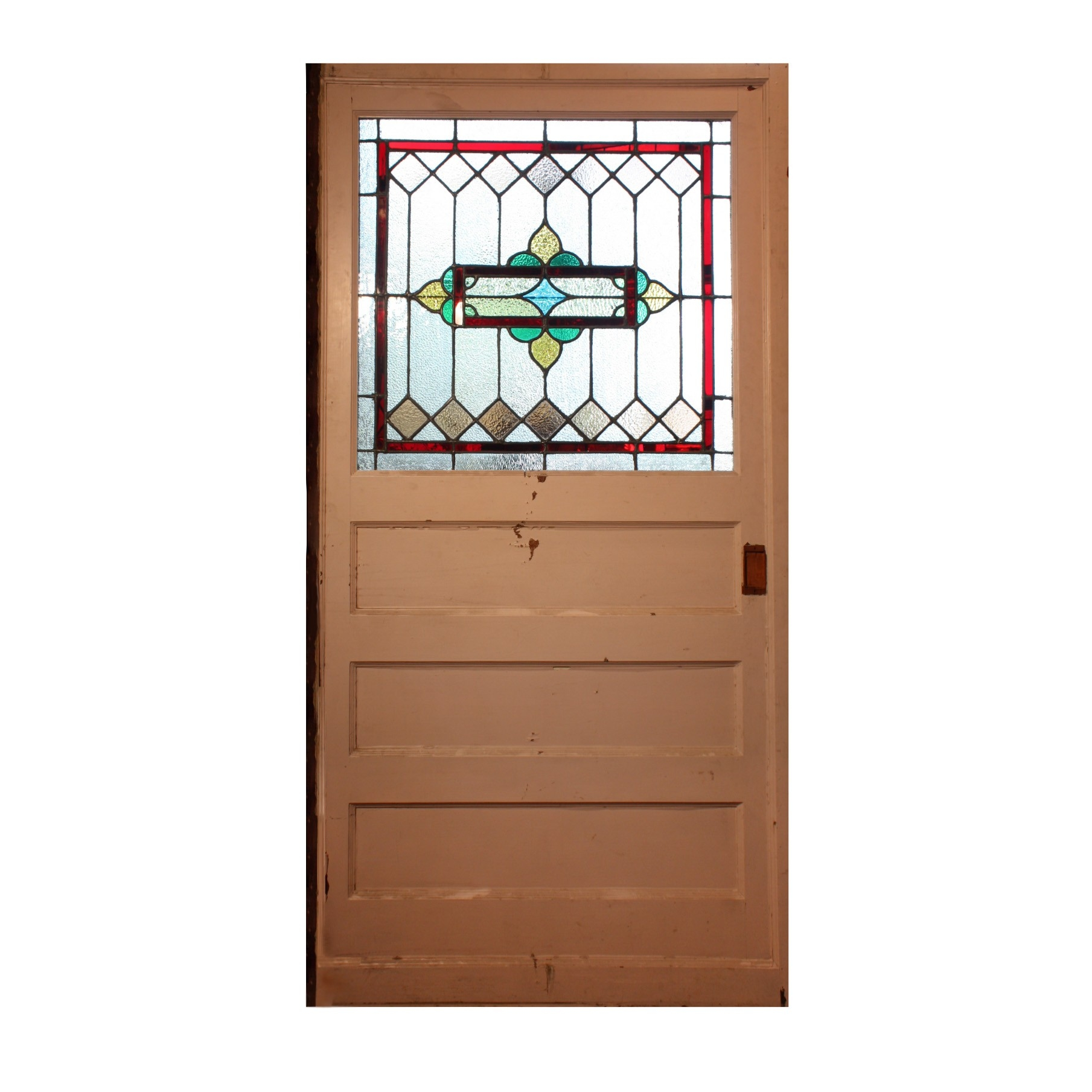 Stained Glass Pocket Doors Antique