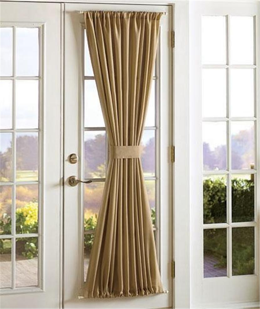 Blackout Rod Pocket Door Panel