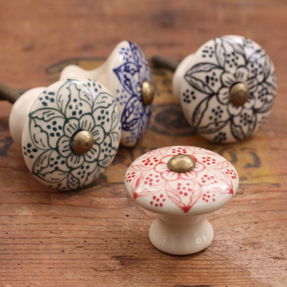 Decorative Porcelain Door Knobs