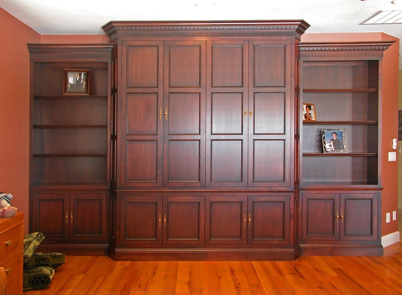 Folding Pocket Cabinet Doors