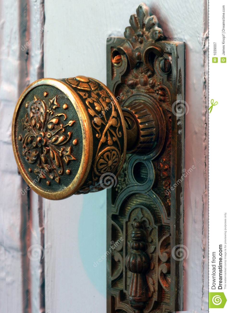 Old Ornate Door Knobs
