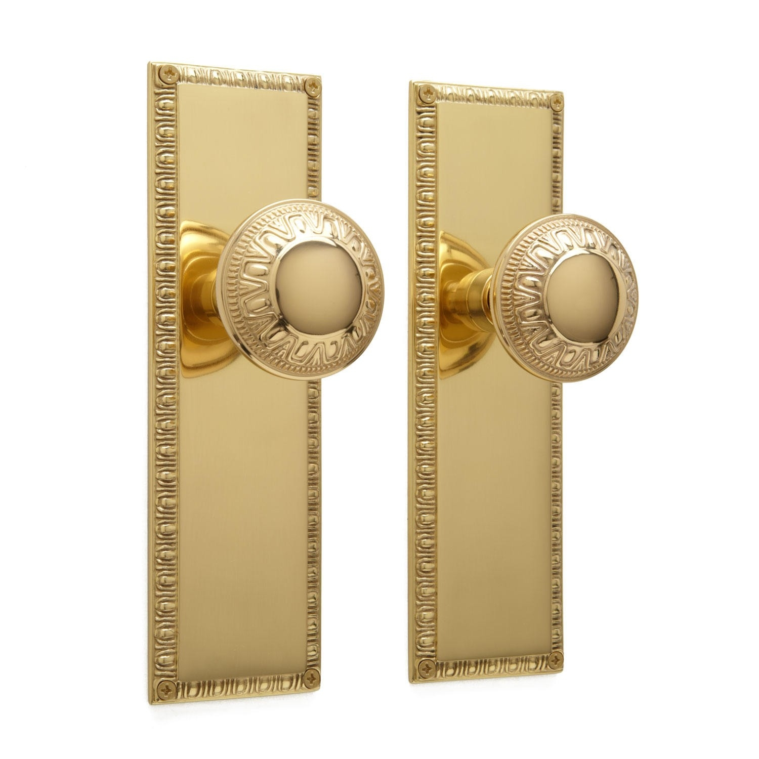 Polished Brass Interior Door Knobs
