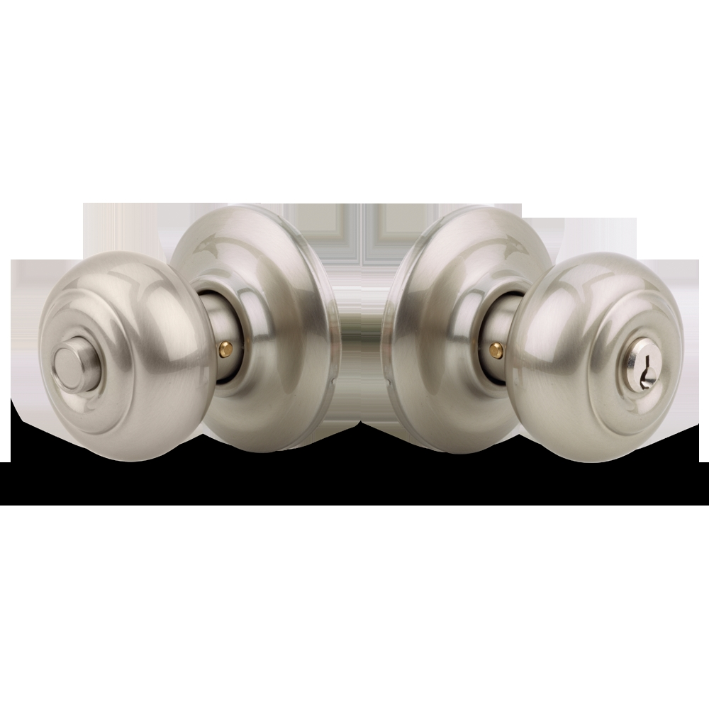 Push Button Door Knobs