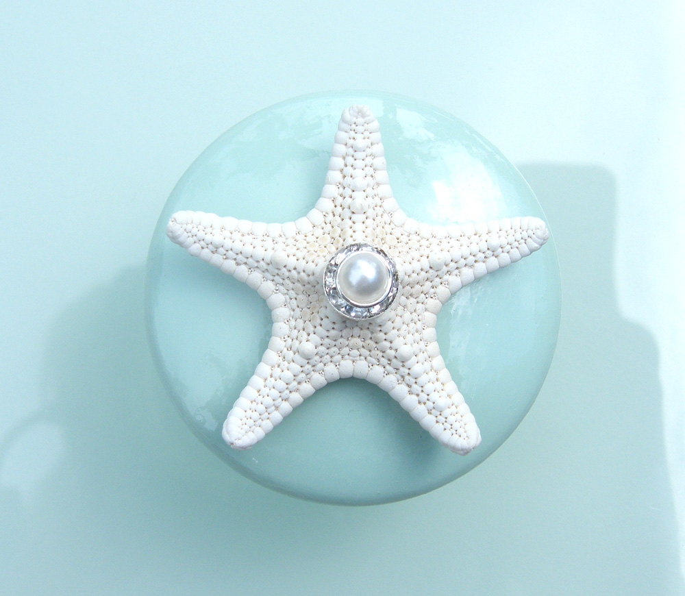 Starfish Closet Door Knobs