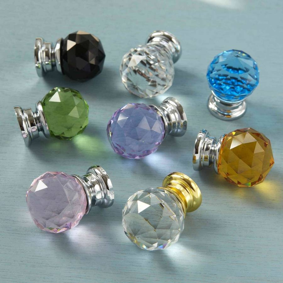 Wardrobe Door Knobs Crystal