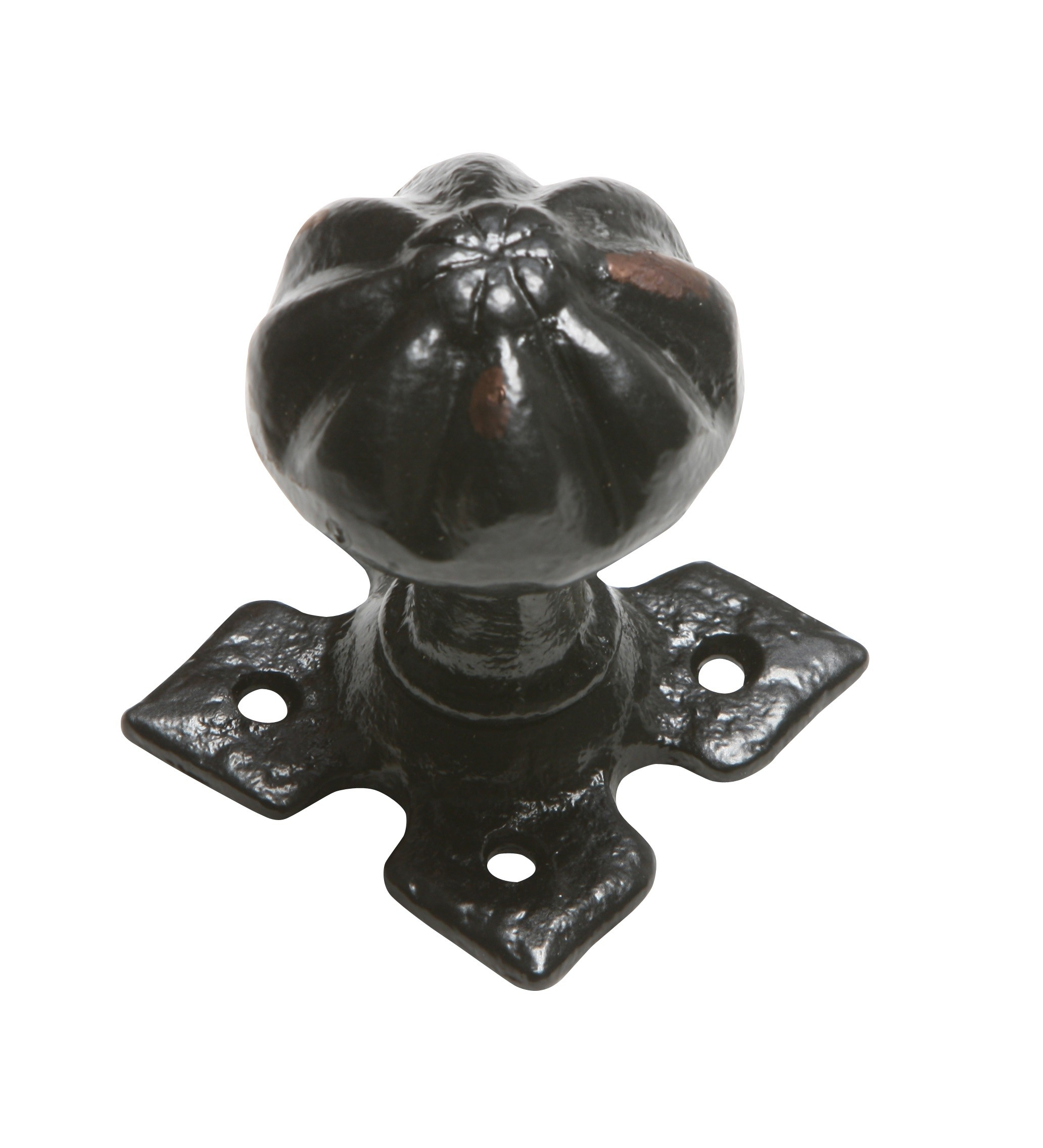Black Iron Mortice Door Knobs
