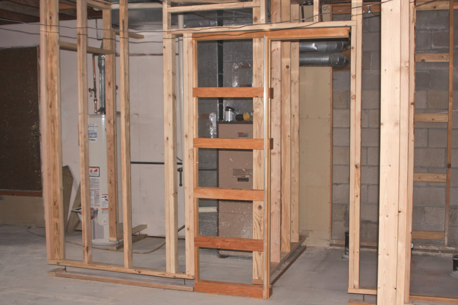 Framing Pocket Door Basement
