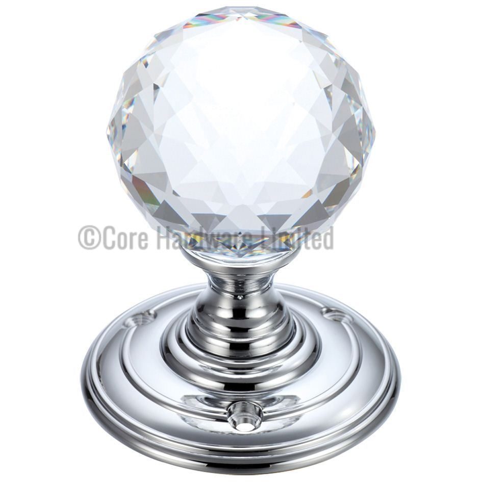Glass Ball Door Knobs fb301cp glass ball mortice knob facetted blue 55mm zoo 945 X 945