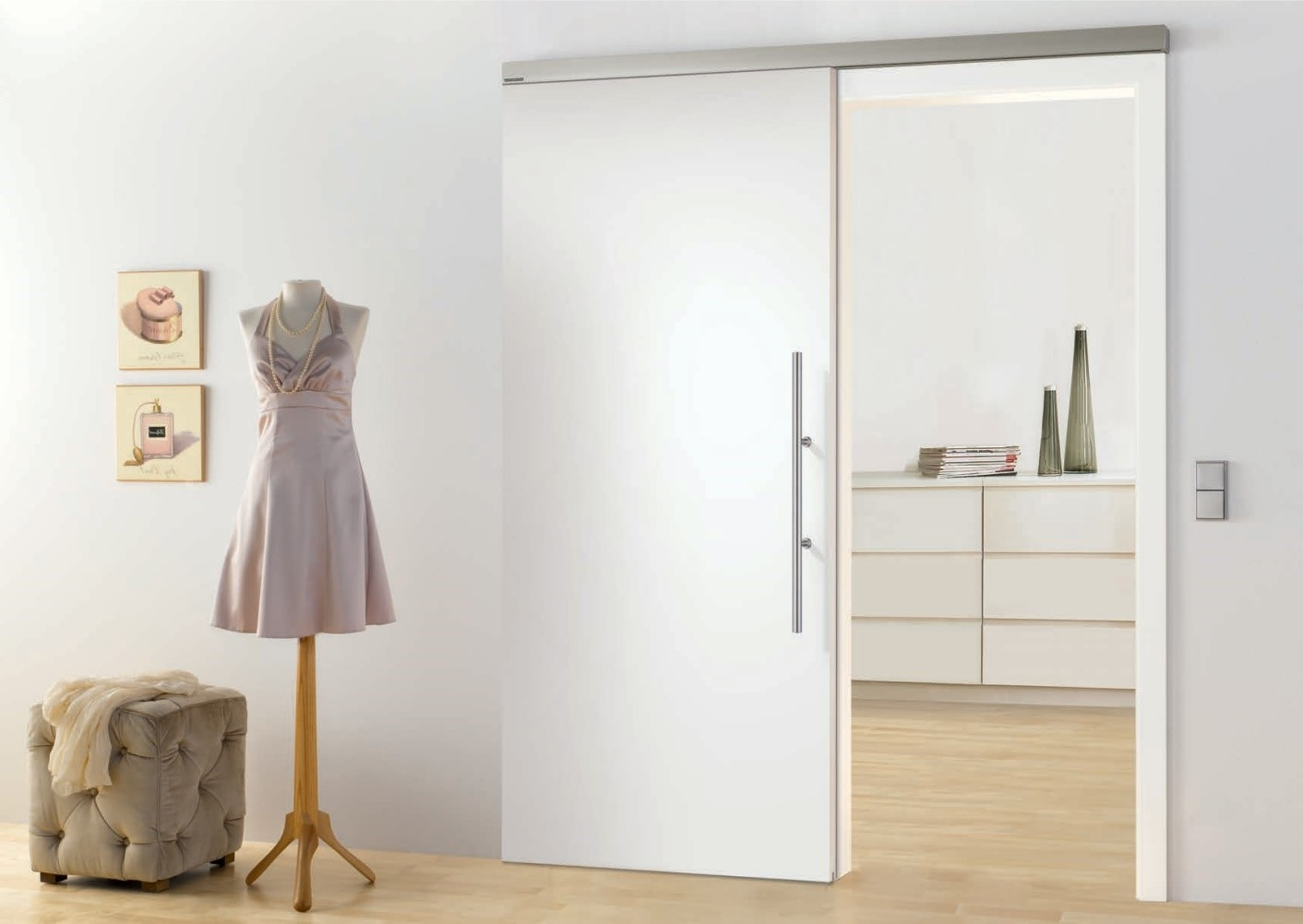 Permalink to Make Pocket Door Quiet