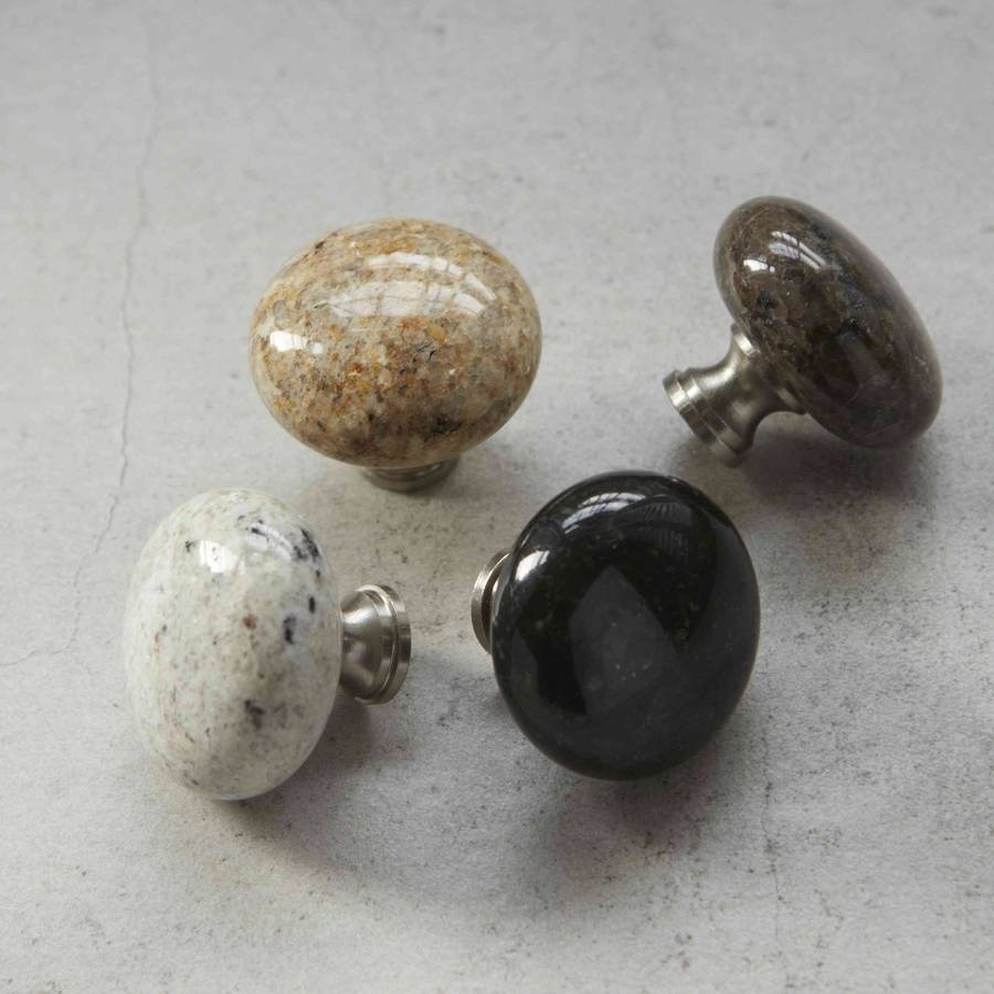 Stone Cabinet Door Knobs