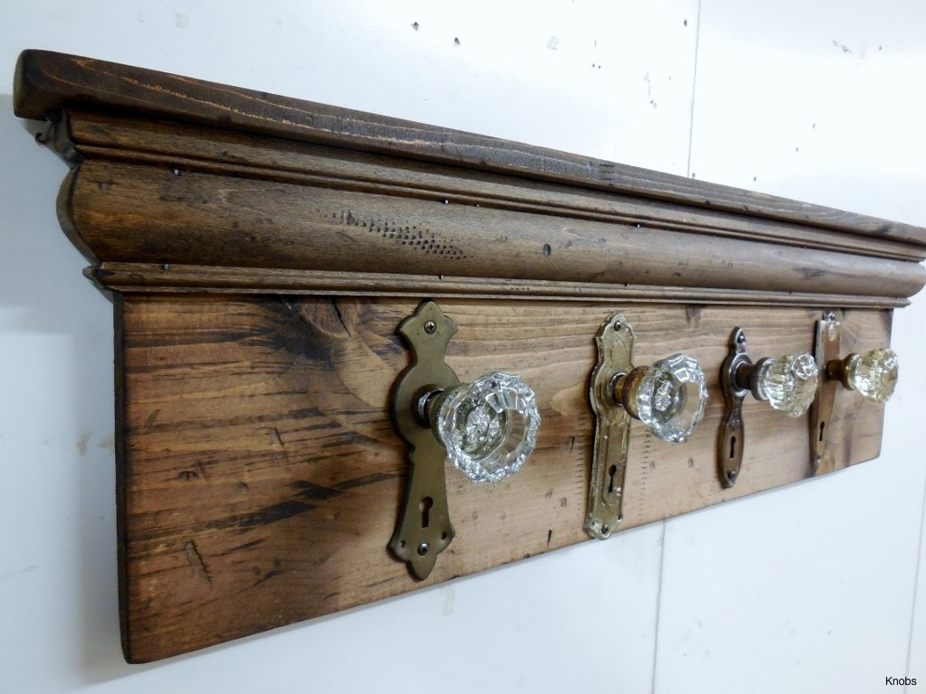 Antique Door Knob Coat Hooks knobs coat hanger new diy rack old barn board with antique door 1024 X 768