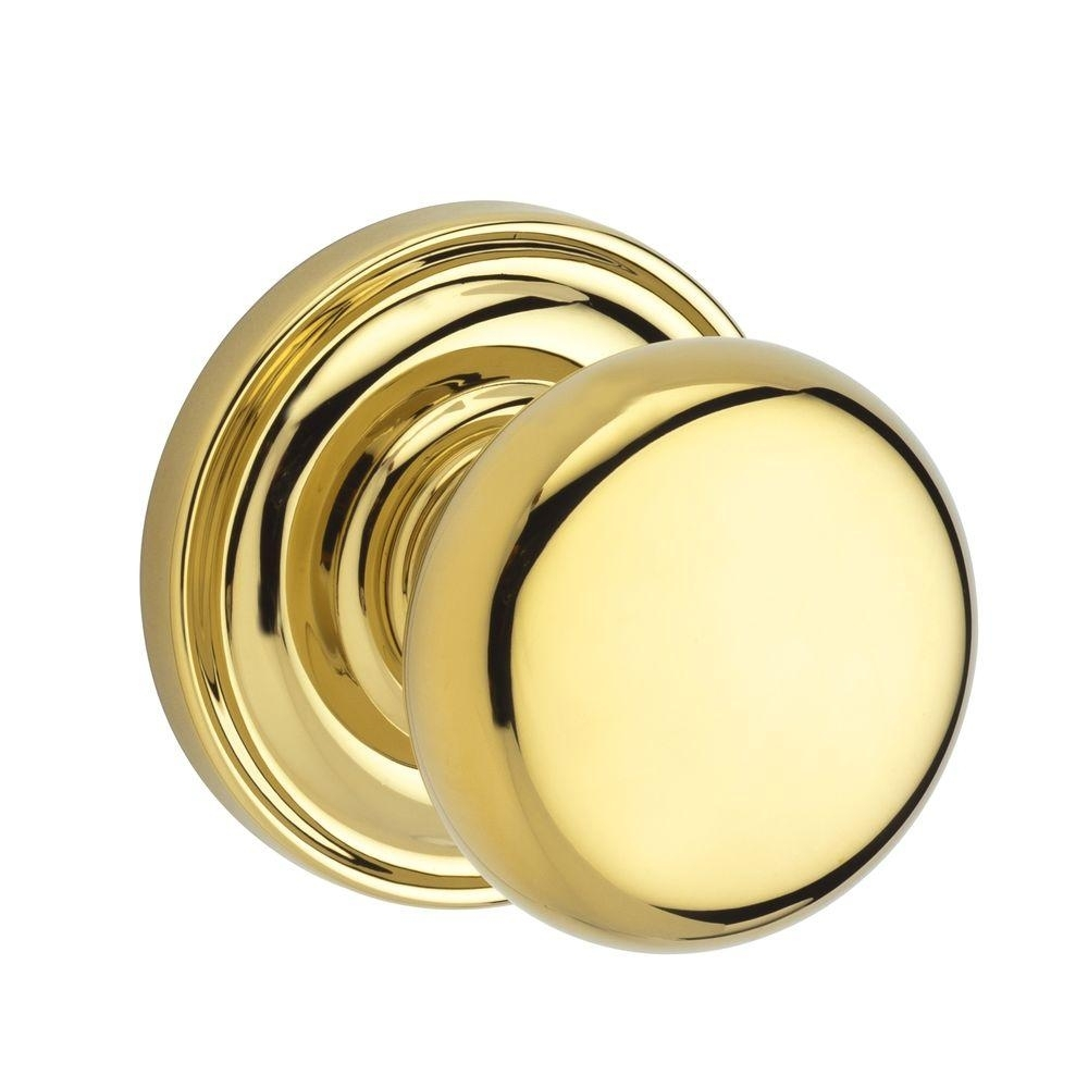 Baldwin Brass Interior Door Knobs