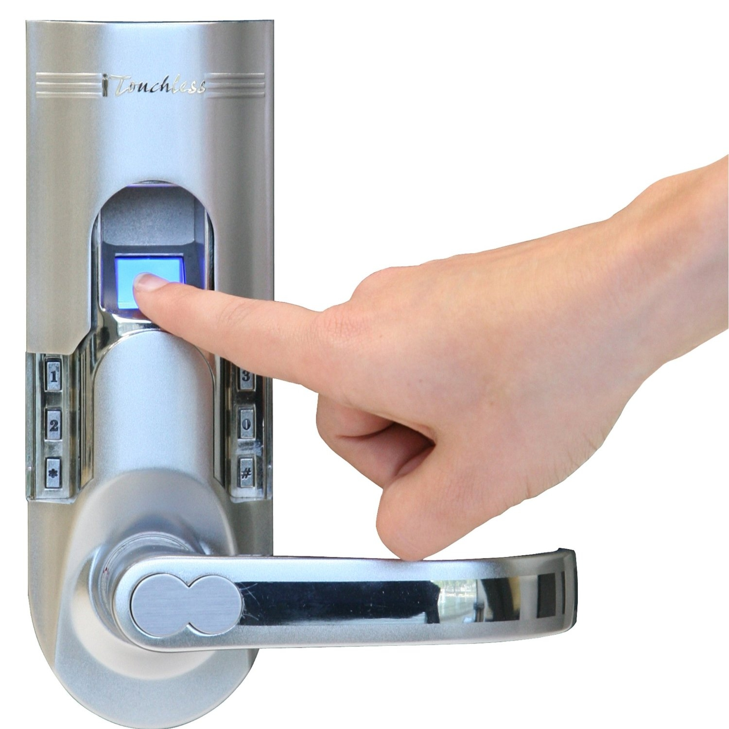 Biometric Fingerprint Door Knob