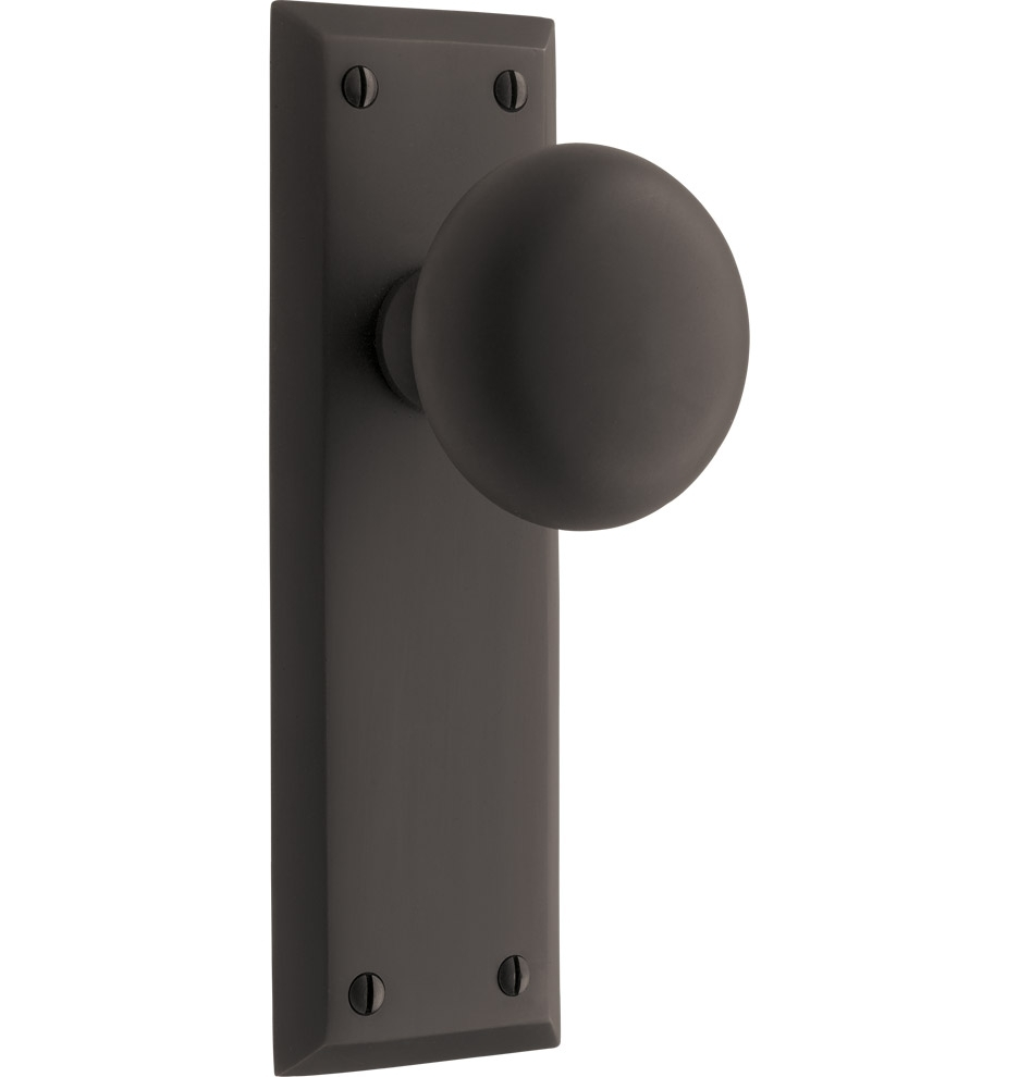 Permalink to Black Door Knob On Backplate