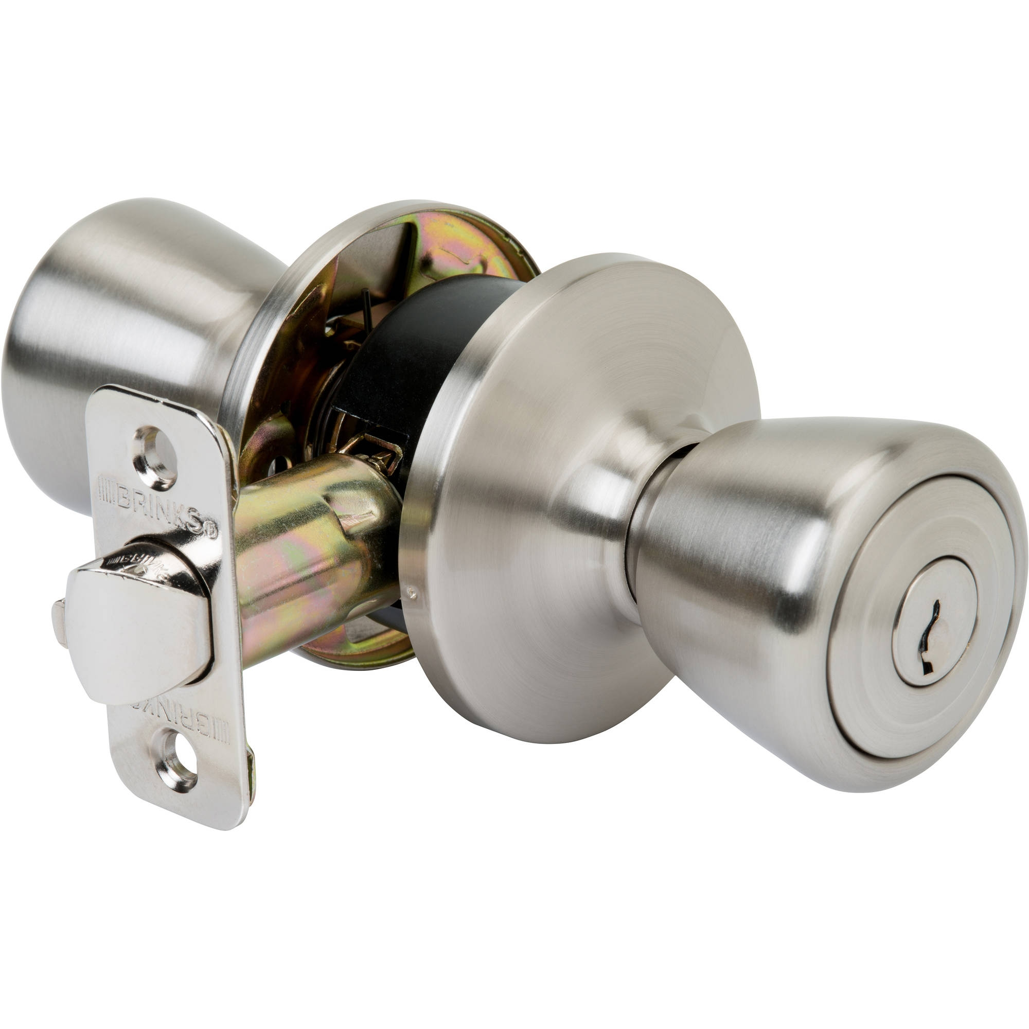 Brinks Door Knobs Satin Nickel
