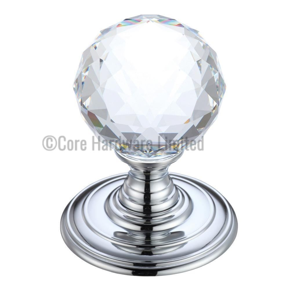 Concealed Rose Door Knobfulton and bray glass faceted concealed fix door knobs fbcr301cp