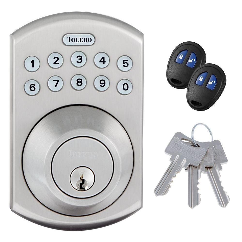 Electronic Door Knob With Remote