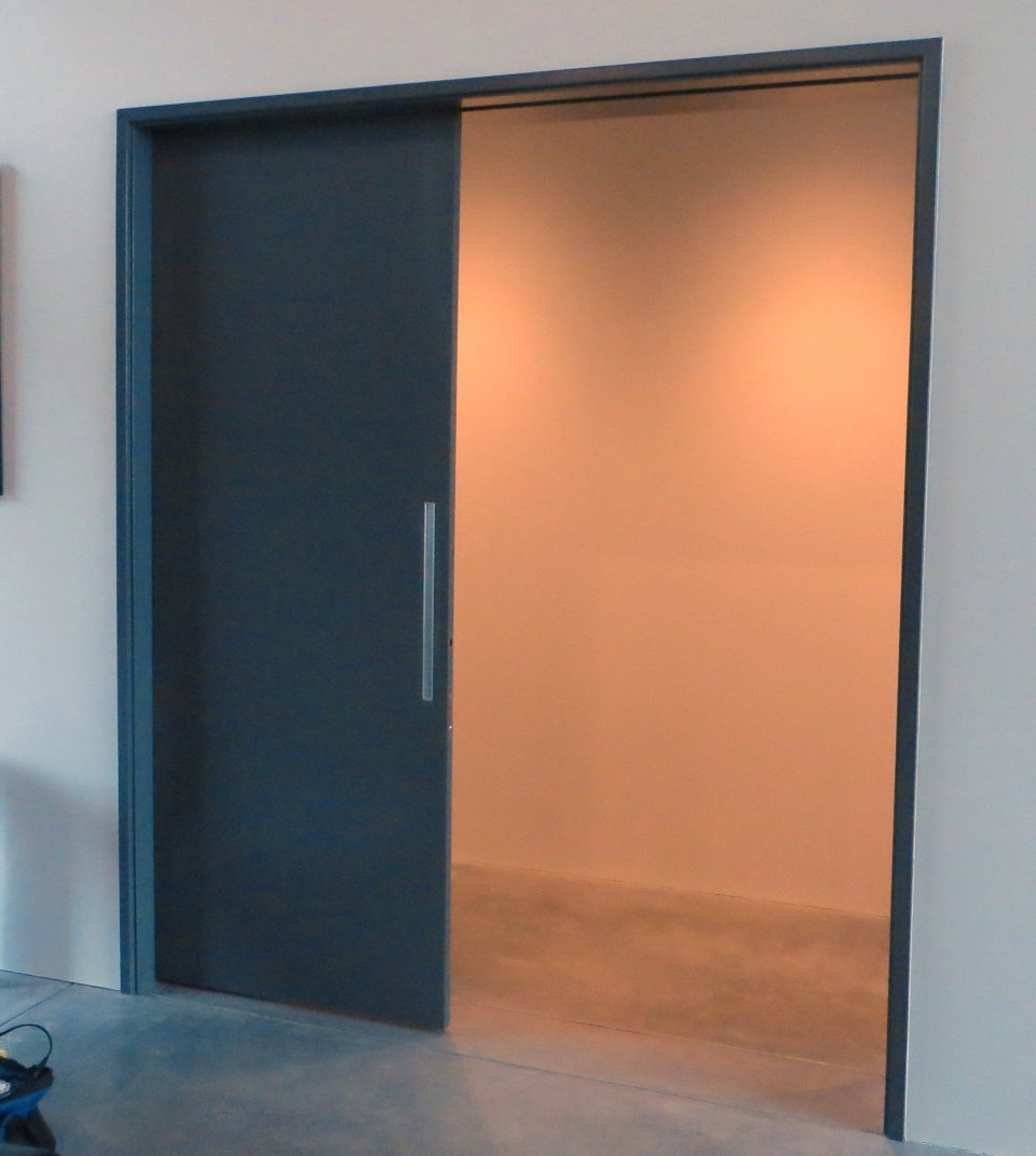 Exterior Metal Pocket Doors