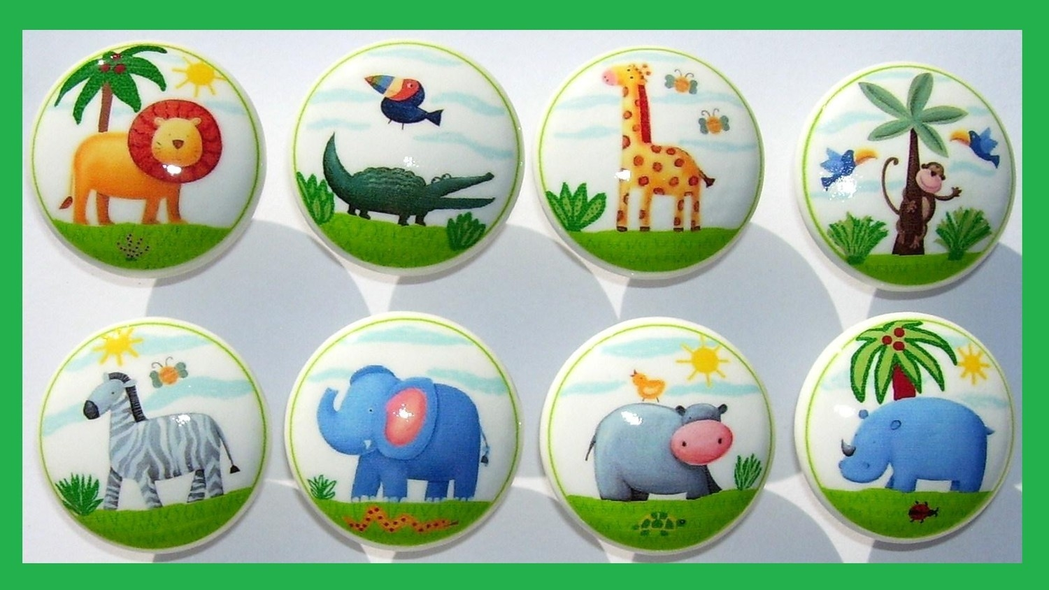 Jungle Animal Door Knobs
