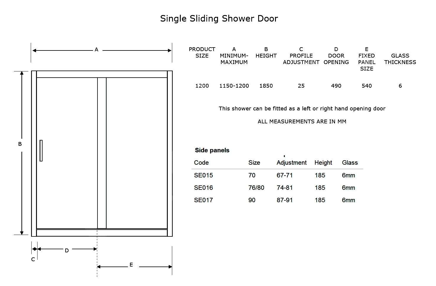 Pocket Door Size Standards