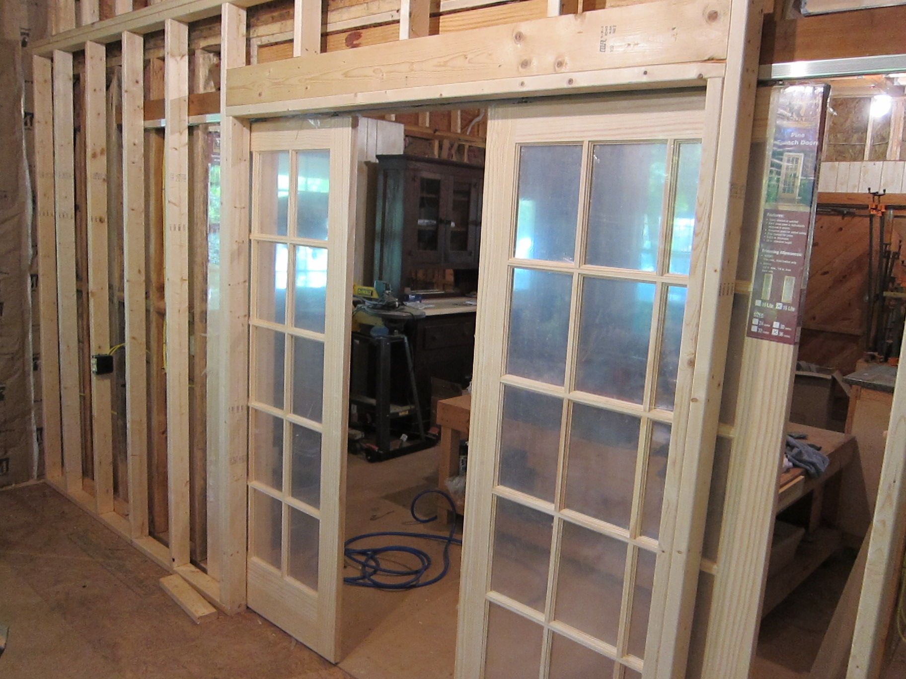 Pocket French Doors Exterior