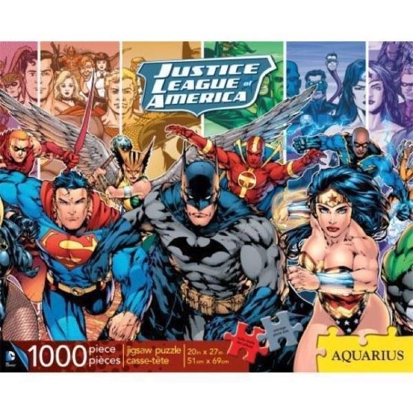 [03966] Quebra cabeça - Justice League of America - 1000 peças