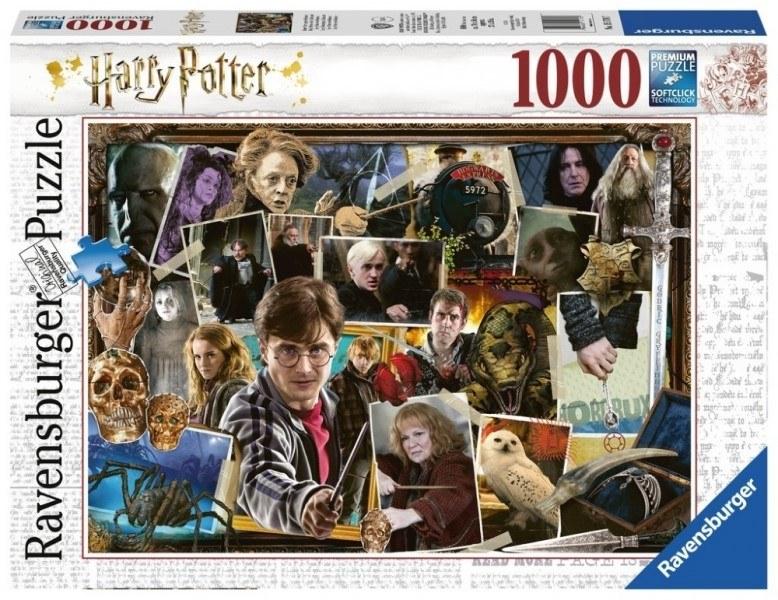 [10368] Quebra cabeça - Harry Potter vs Voldemort - 1000 peças