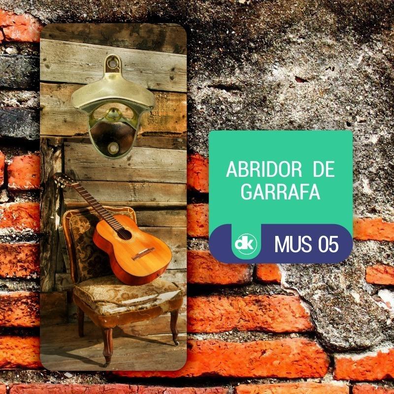 Abridor de Garrafas Dekorarte MUS05