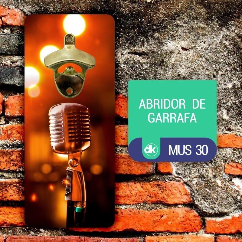 Abridor de Garrafas Dekorarte MUS30
