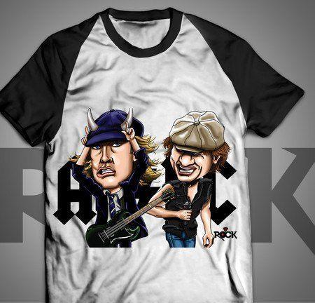 AC/DC - Camiseta Exclusiva