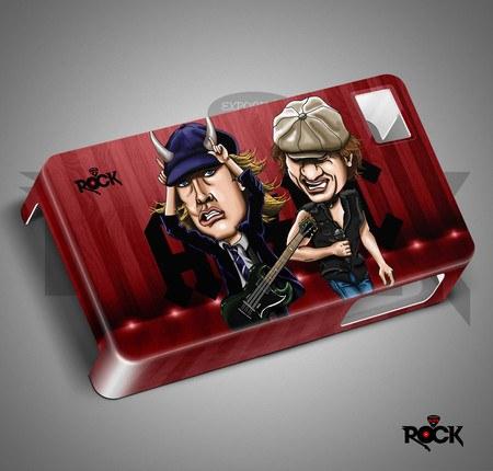 AC/DC - Capa de Celular Exclusiva