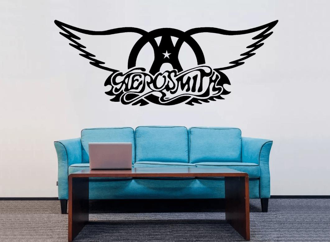 Adesivo De Parede - Aerosmith