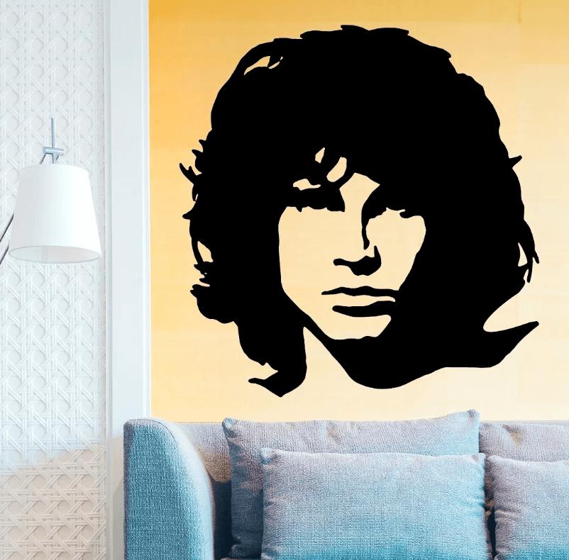 Adesivo De Parede - Jim Morrison
