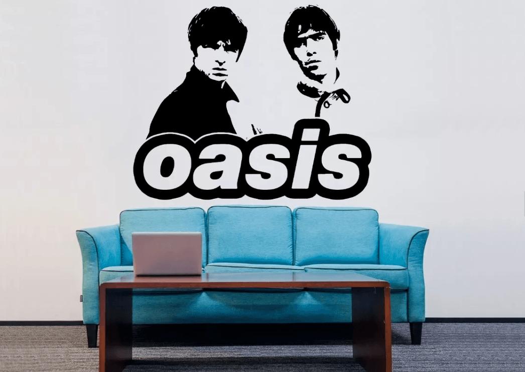 Adesivo De Parede - Oasis