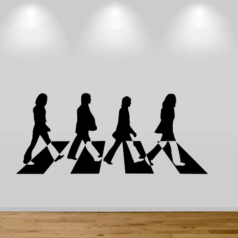 Adesivo De Parede - The Beatles
