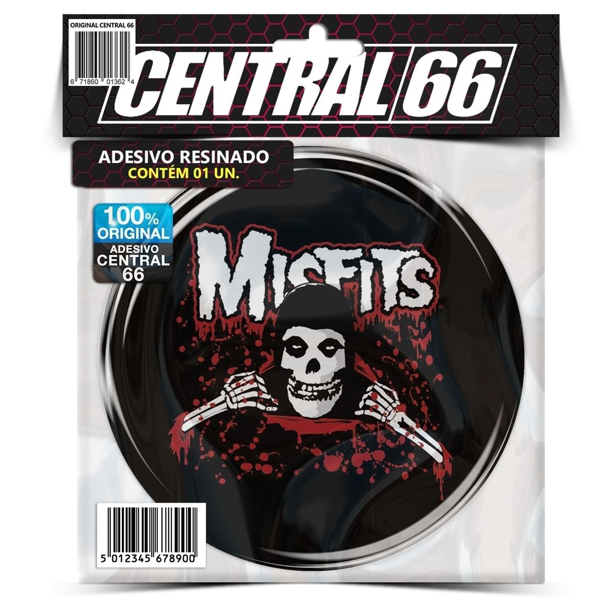 Adesivo Redondo Misfits – Central 66