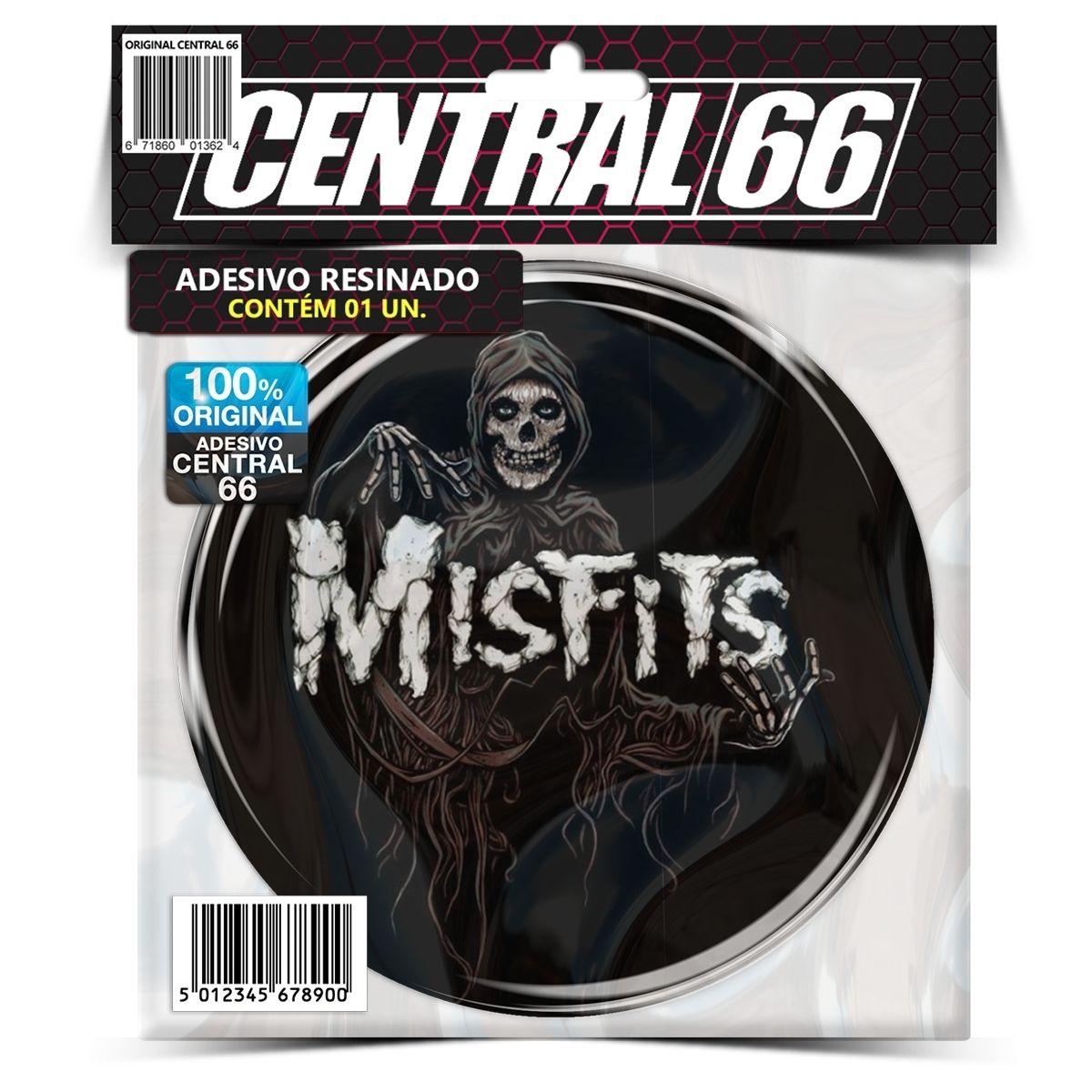 Adesivo Redondo Misfits M03 – Central 66
