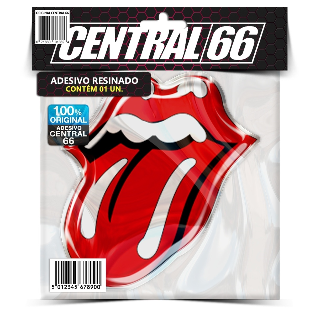 Adesivo Rolling Stones – Central 66