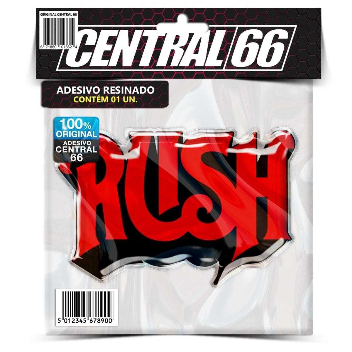 Adesivo Rush – Central 66
