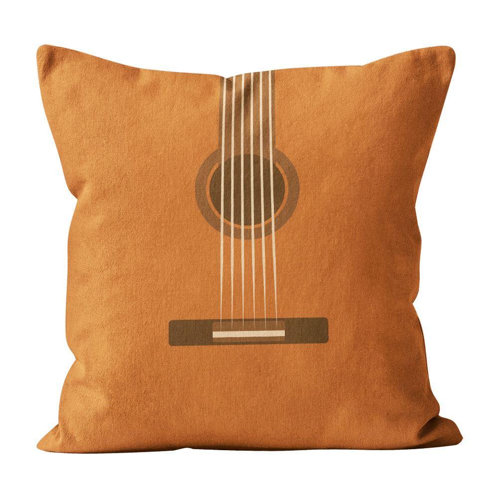 Almofada Pillowshow Minimalist Rock Música Som Violão Min502