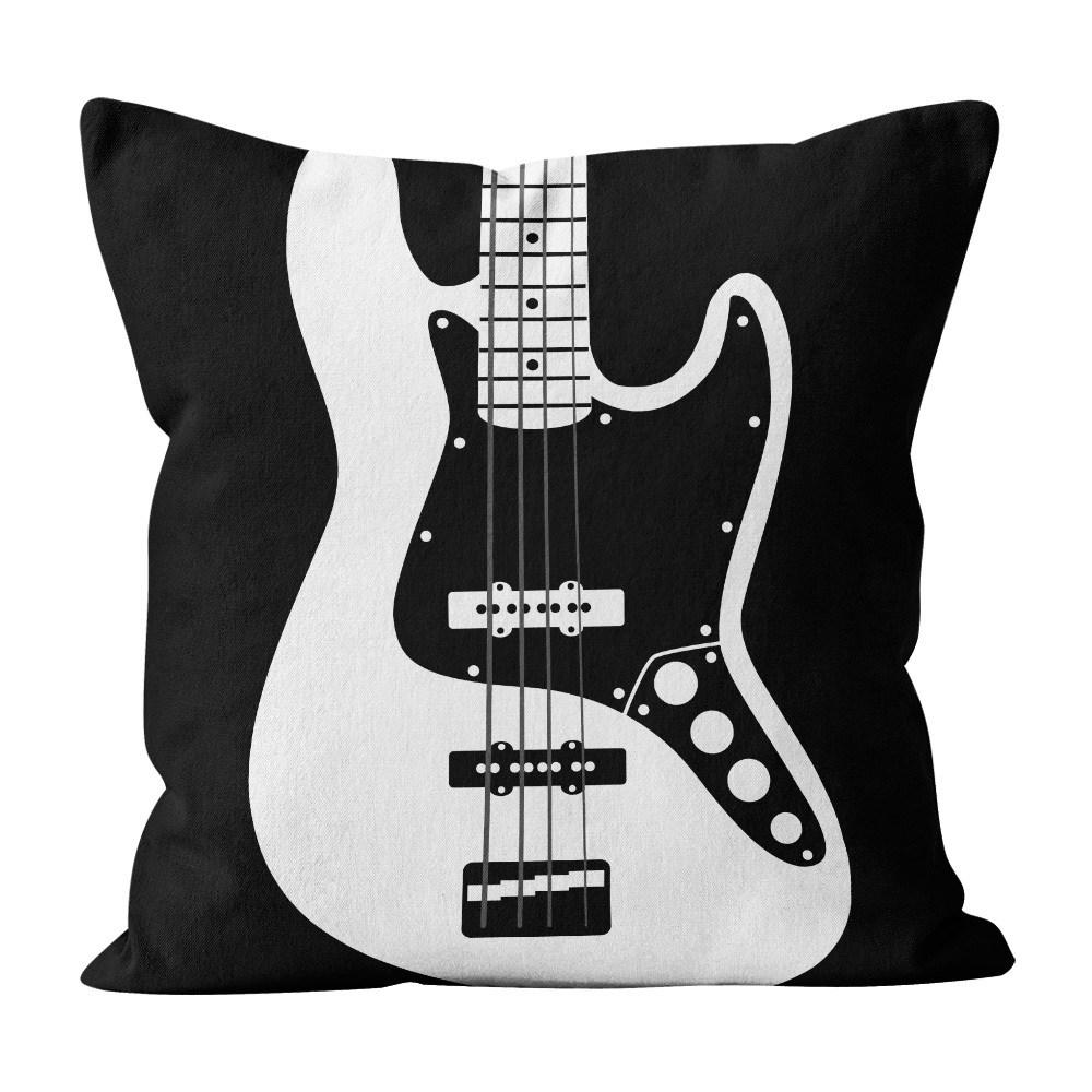 Almofada Pillowshow Square Rock Som Baixo Jazz Bass Squ004