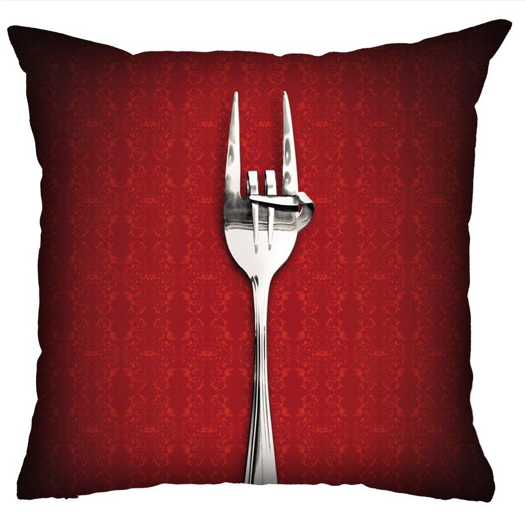 Almofada Rock Use - Fome de Rock (Vermelha)