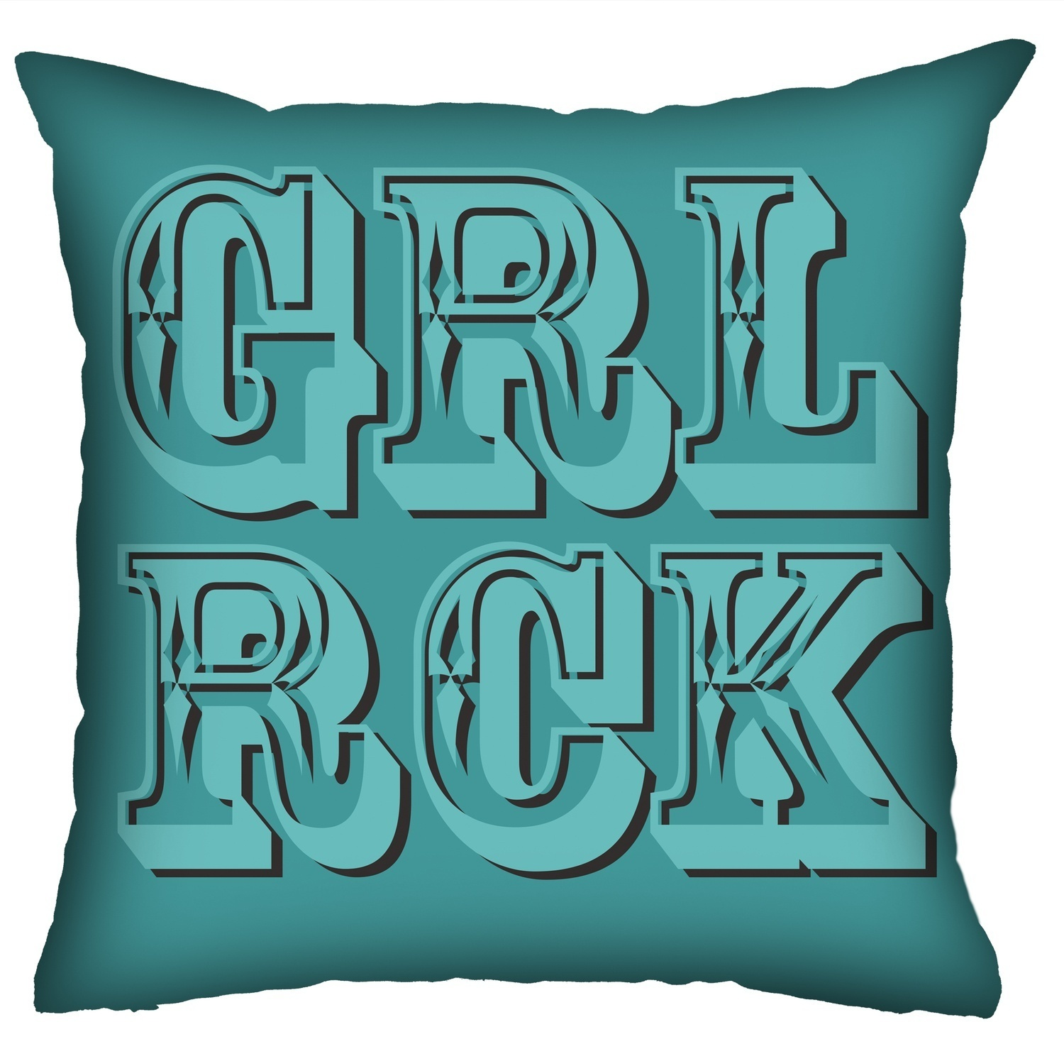 Almofada Rock Use - Girl Rock!