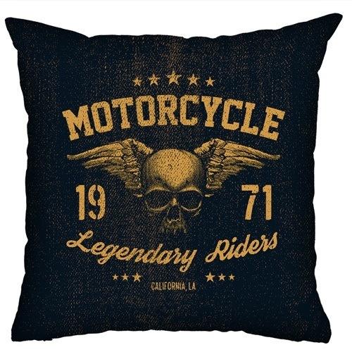 Almofada Rock Use - Legendary Riders