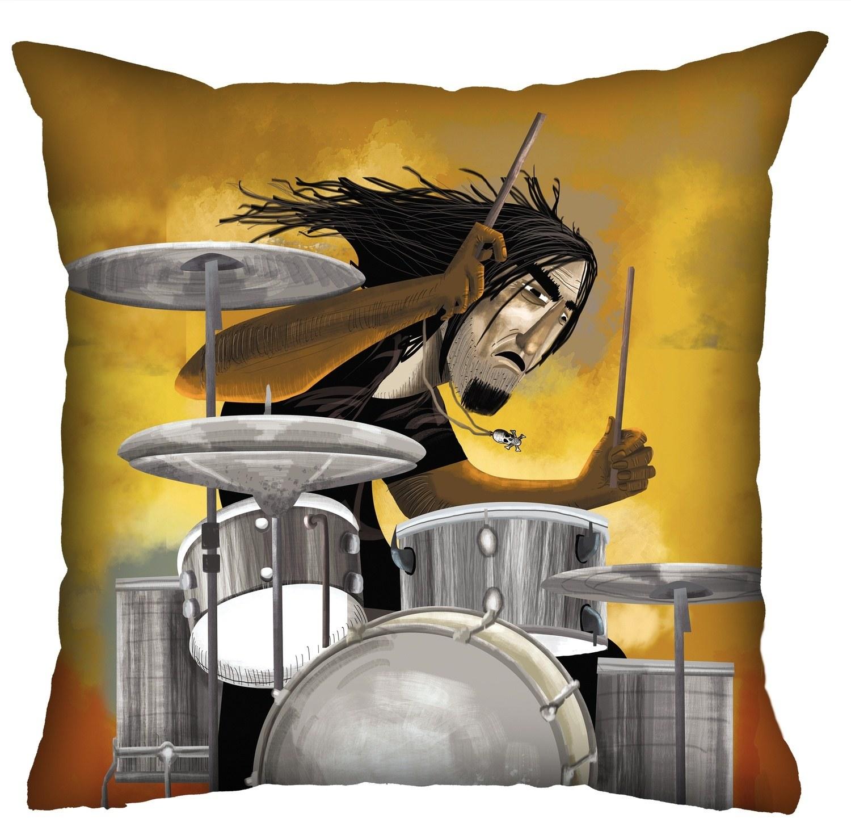 Almofada Rock Use - O Baterista Furioso