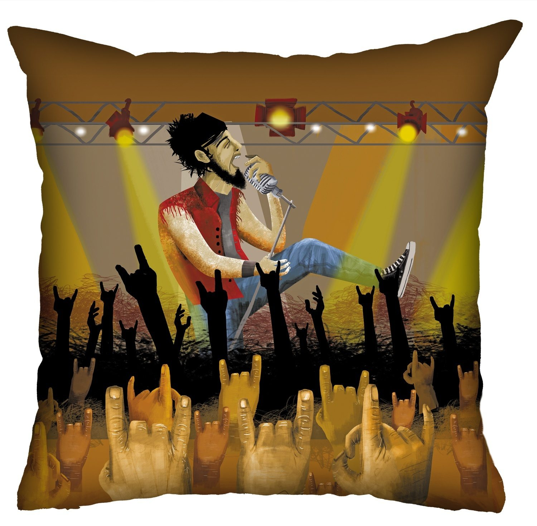 Almofada Rock Use - O Vocalista Inspirado
