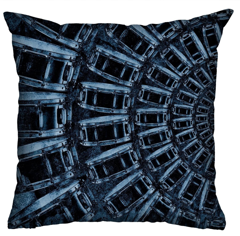 Almofada Rock Use - Rock Drums (Azul)