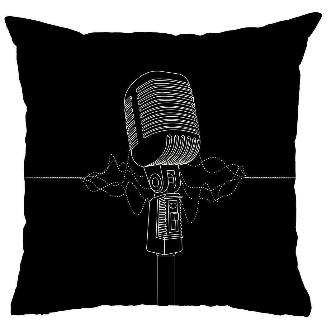 Almofada Rock Use - Solta a Voz (Preto)