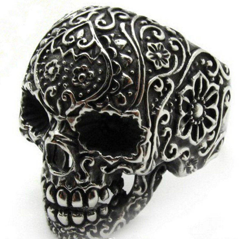 Anel Vintage Skull