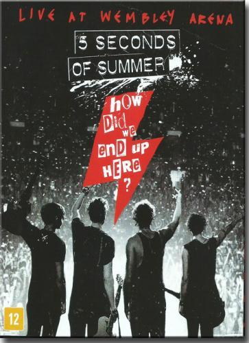 Blu Ray 5 Seconds of Summer - How Did we End up Here Live a